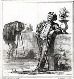 Le photographe by Honoré Daumier - ref. 470197 - © All uses and rights reserved by Ducatez